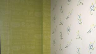 Pintores Zaragoza -Rulato. Papel pintado infantil