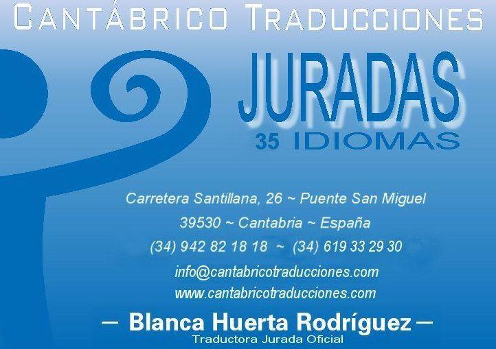 Traductor jurado Santander