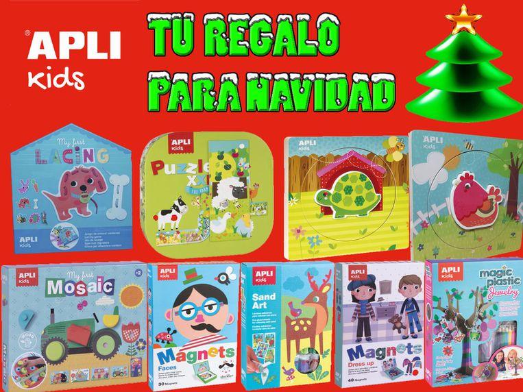 Apli Kids. aprender jugando, el mejor regalo para esta Navidad en Papelería Sancho's