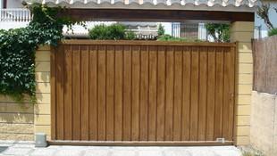 Puertas metálicas de garaje