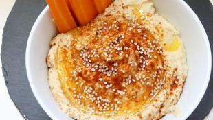 Hummus con crudités
