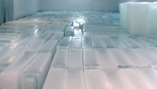 Distribución de hielo en barra en Madrid