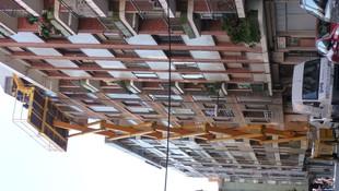 reparacion de aleros en CCPP Erandio