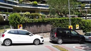 Gestión de la señalización del espacio para la mudanza en Barcelona