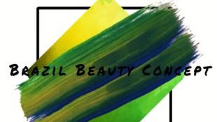 logo Brazil Beauty Concept