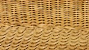 Reparación de muebles con rejillas vegetales
