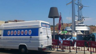 Limpieza de yates en Menorca
