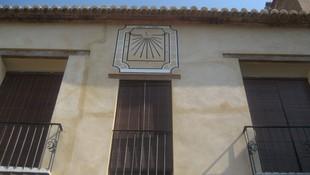 Restauración reloj de sol.