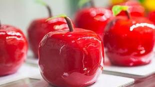 Dulce de manzana y caramelo