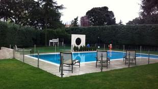 Barandilla de piscina en vidrio