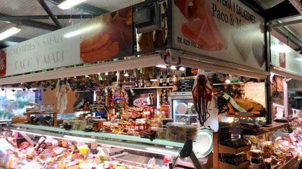 Tienda de comestibles y salazones en Elche