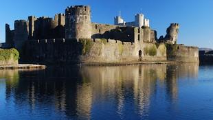 Castillo de Caerphilly, Gales
