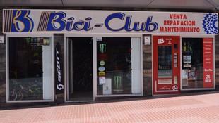 Fachada tienda de bicicletas