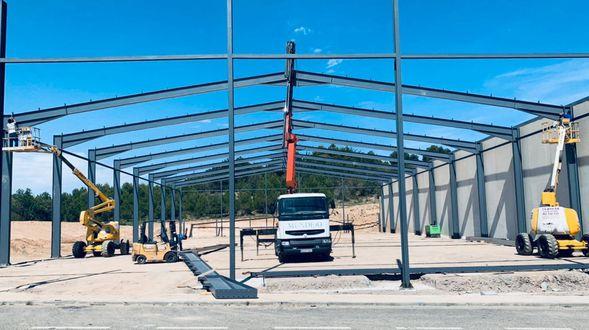Empresa de fabricación y montaje de estructuras metálicas en Lorca