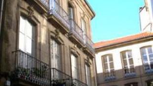 Edificio de la pensión
