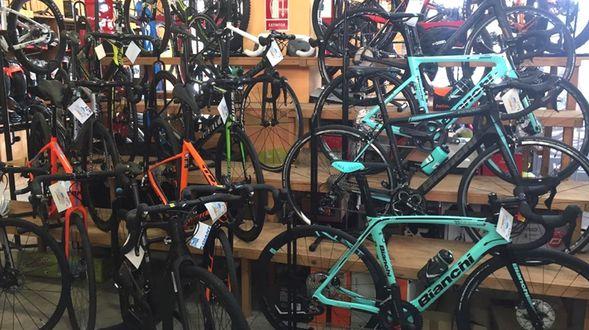 Venta de bicicletas en Barcelona