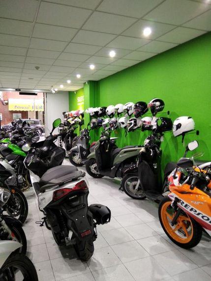 Taller mecánico de motos en L'Hospitalet de Llobregat