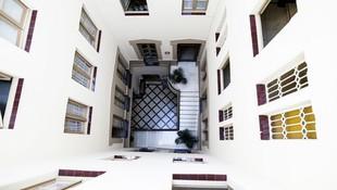 Interiores de la residencia de estudiantes en Barcelona