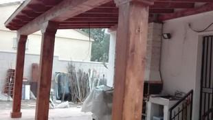 Cenadores para jardín de madera en Villaviciosa de Odón