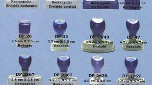 Amplia variedad de modelos de sellos automáticos de goma en Valladolid