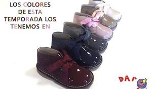 Zapatos Dar2 Illueca. Mod: 100