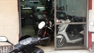 Taller de reparación de motos