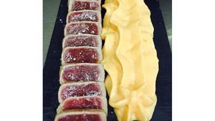 Nuestro tataki de atún de Balfegó