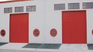 Puertas para locales indsutriales en Gipuzkoa