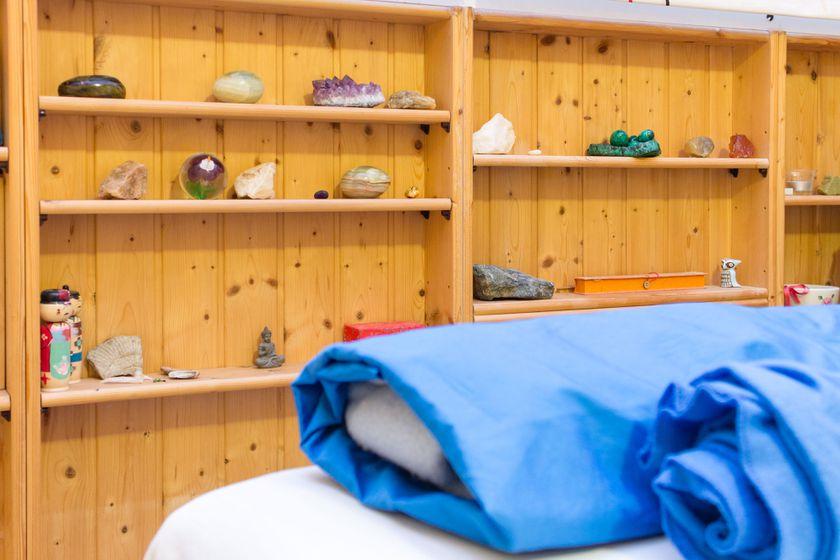 Sala para terapias en Vida Shiatsu