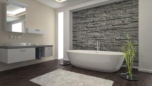 Reforma de baño en casa unifamiliar.