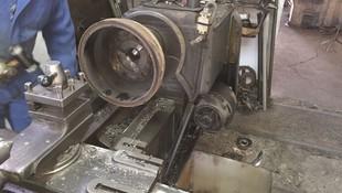 Mecanizado de tambor de freno.
