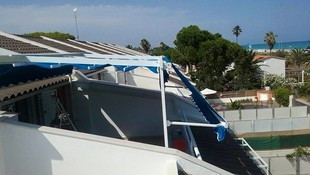 Instalación y mantenimiento de toldos