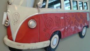 Figura en relieve de furgoneta para habitación juvenil