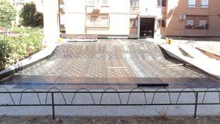Impermeabilización de cara superior del forjado de un garaje