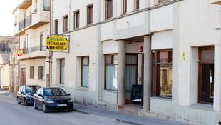 Entrada a nuestro hotel en Teruel