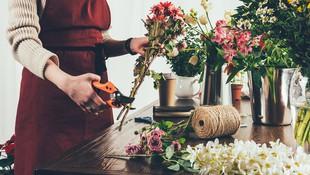 Centros de flores y coronas